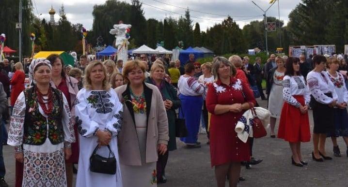 У Володимирі-Волинському відбувся 14-ий фестиваль «Український коровай-сузір'я»