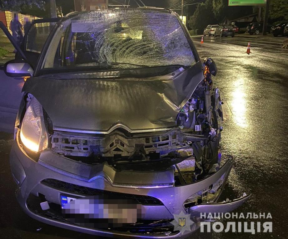 У Луцьку під колесами авто загинув пішохід