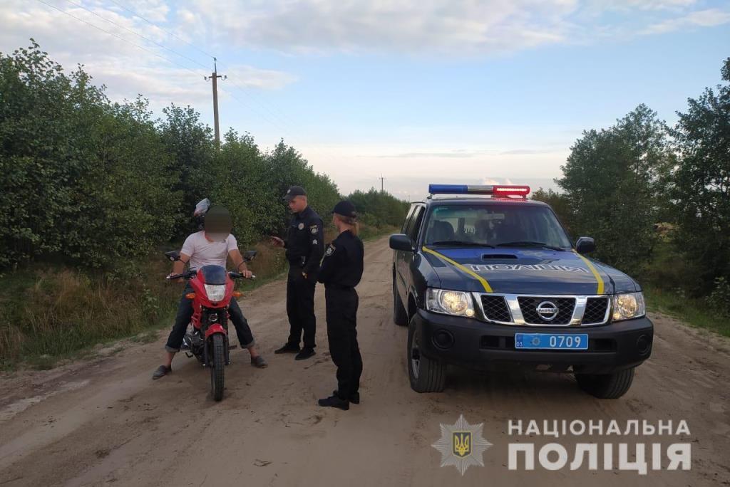 У поліції Волині заявили, що шоста частина нетверезих водіїв, яких виявляють поліцейські, – це мотоциклісти