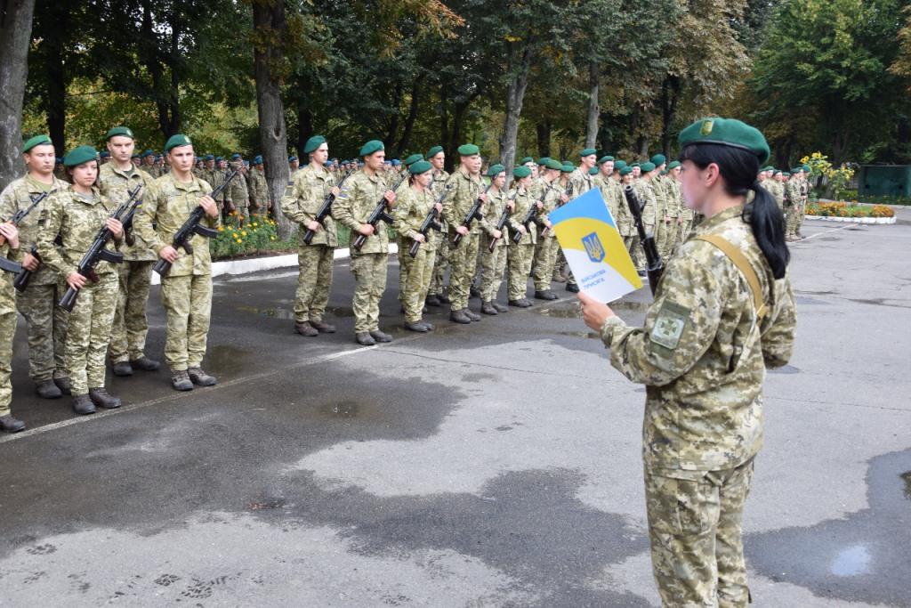 У Луцьку новобранці-прикордонники склали військову присягу
