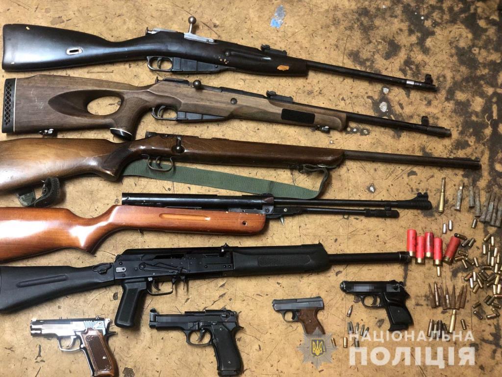 Правоохоронці Волині утилізували зброю та боєприпаси