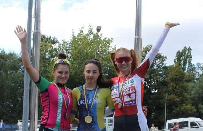 Волинська спортсменка стала триразовою чемпіонкою України з велоспорту
