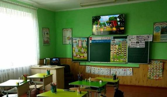 Для шкіл громади на Волині придбали телевізори на понад півмільйона