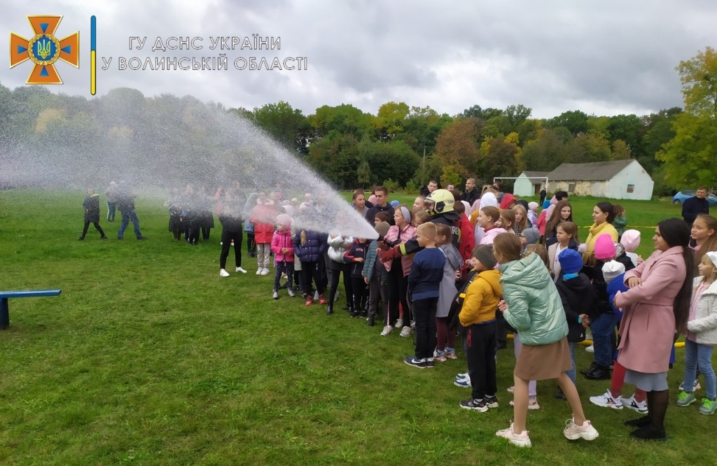 У громаді на Волині провели огляд-конкурс серед загонів місцевої пожежної охорони