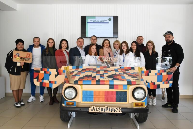 Депутати Луцькради ознайомилися з роботою КП «Центр туристичної інформації та послуг»
