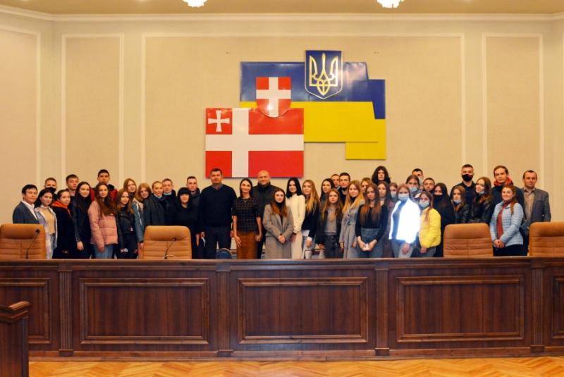 Студенти ВНУ ознайомилися із роботою Волиньради
