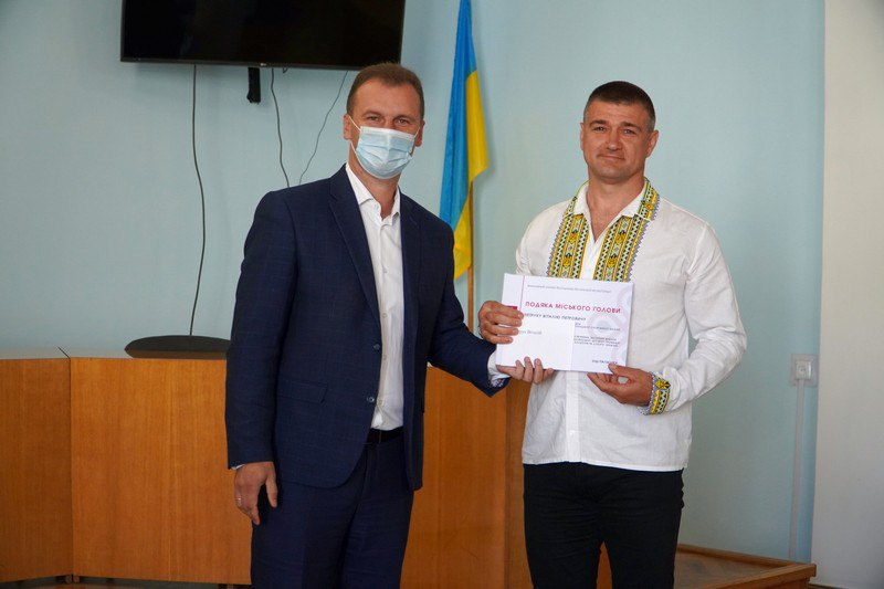 У Володимирі-Волинському привітали зі святом найкращих спортсменів громади