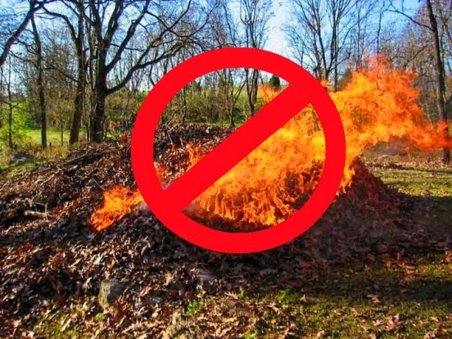 У Луцькій громаді діятиме заборона на спалювання сухої рослинності та сміття