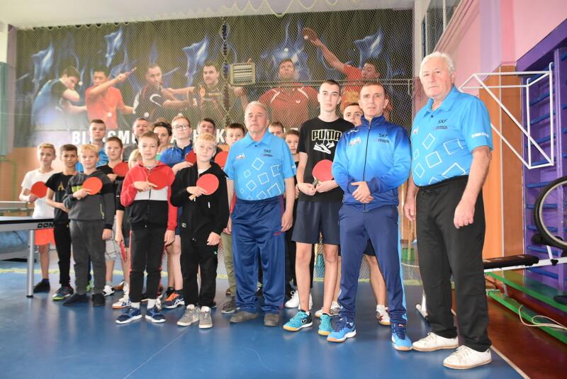 У Луцьку обговорили перспективи розвитку настільного тенісу