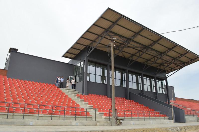 До кінця року у Ковелі планують завершити будівництво спортивного ядра
