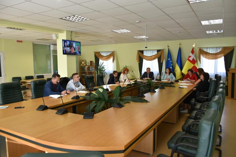 У Луцьку відбулася робоча онлайн-зустріч Керівного комітету проекту «Енергоефективність у громадських будівлях міста Луцька»