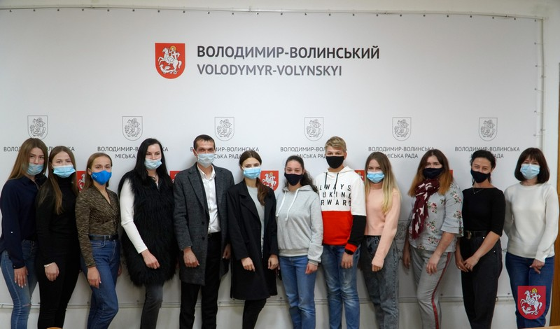 У Володимирі-Волинському обрали голову Молодіжної ради