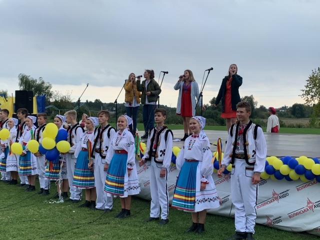 У Гіркій Полонці організували святкове дійство