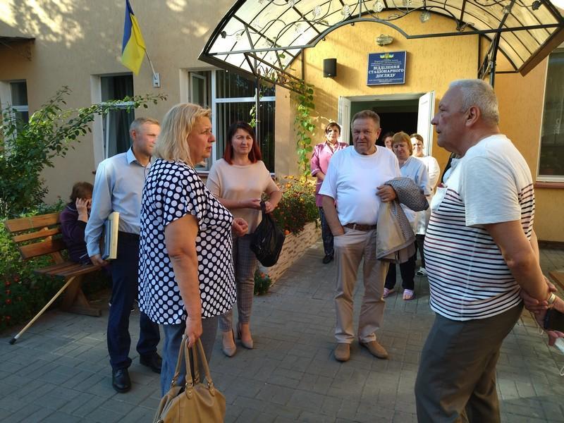 Ковель відвідали представники установ соціальної сфери Тернопільщини