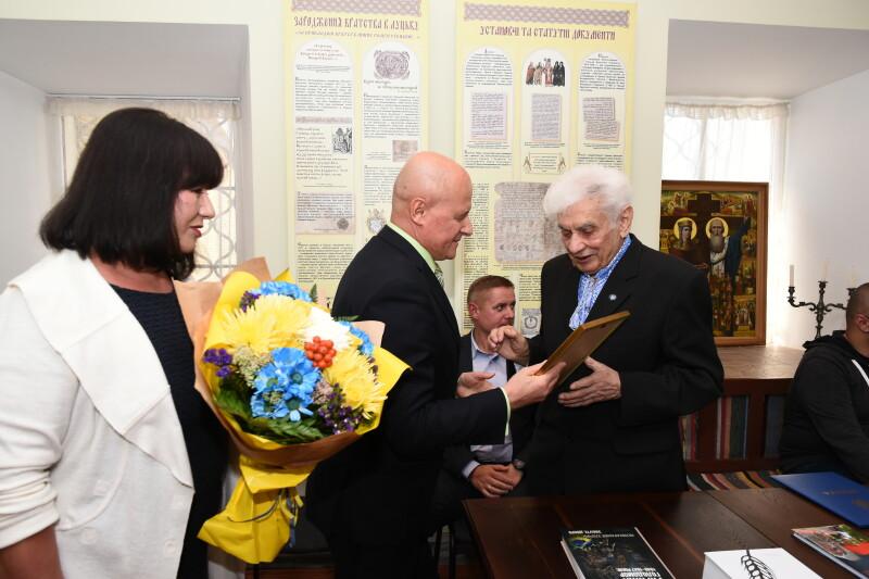 Музей історії Луцького братства відзначив 10-річчя