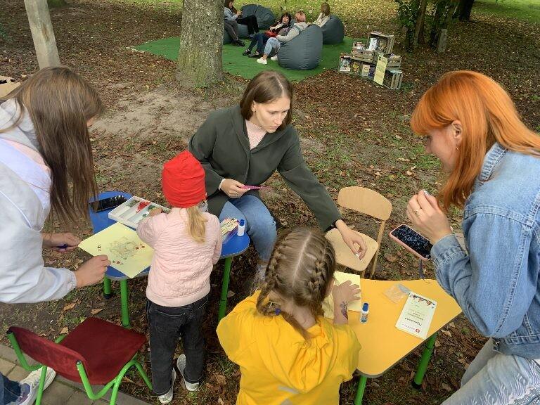 У центральному парку Луцька відбувся бібліотечний пікнік з нагоди Дня міста