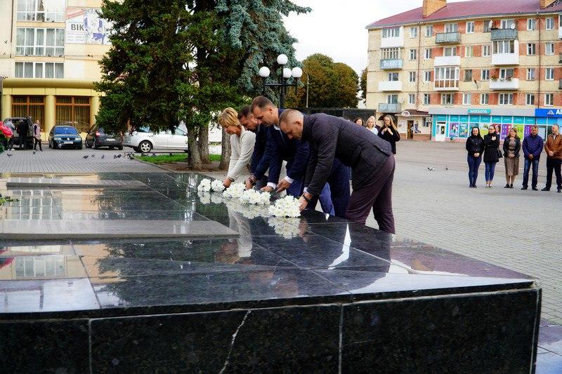 У Володимирі-Волинському вшанували пам'ять героїв з нагоди 76-ої річниці закінчення Другої світової війни