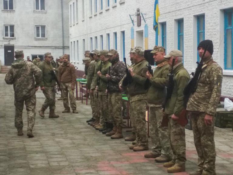 Нововолинці беруть участь у навчальних зборах підрозділів територіальної оборони Волині