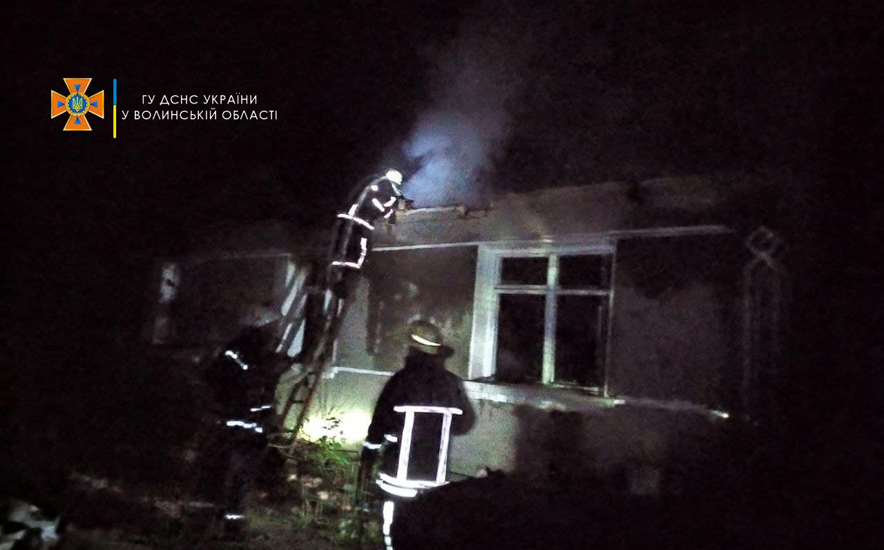 У згорілому будинку на Волині виявили тіло 74-річної жінки