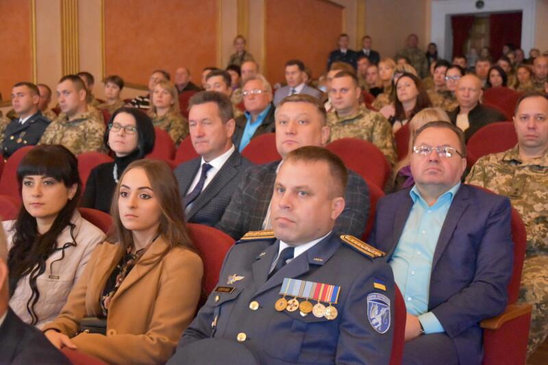 У Луцьку вітали авіаторів військової частини А0959