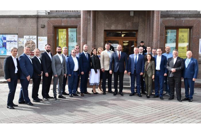 На святкування Дня міста до Луцька приїхали делегації з різних міст України