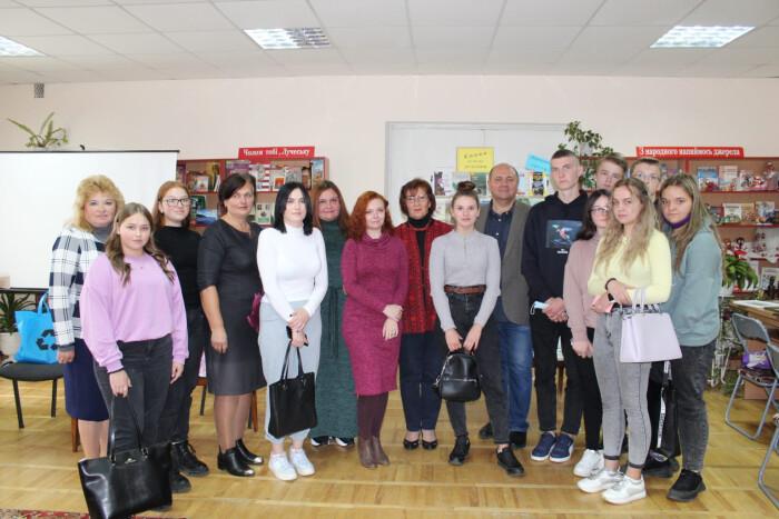 У Луцьку організували літературну зустріч із письменниками Волині