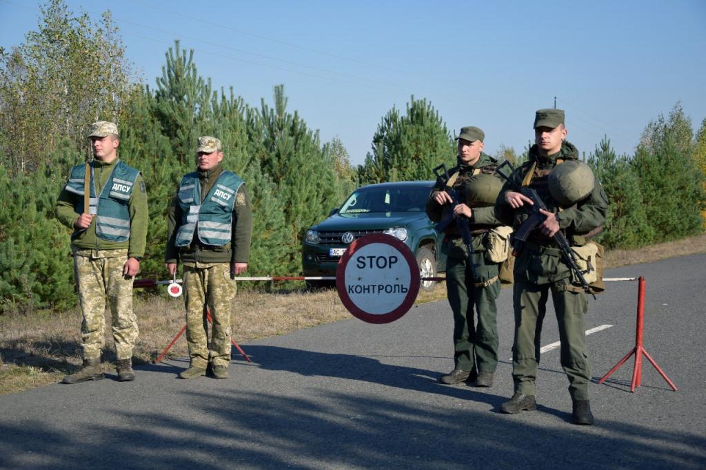 На кордоні з Білоруссю на Волині триває спільна прикордонна операція «Кордон-2021»