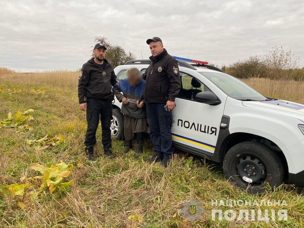 Офіцери поліції на Волині менш, ніж за добу, розшукали пенсіонерку