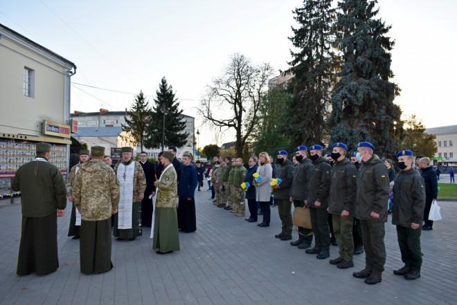 У Луцьку вшанували пам'ять військових, які загинули в зоні АТО/ООС
