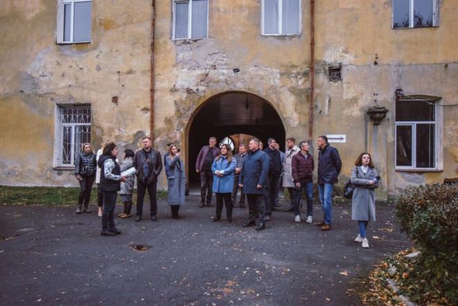 На Волині обговорили питання реконструкції Олицького замку