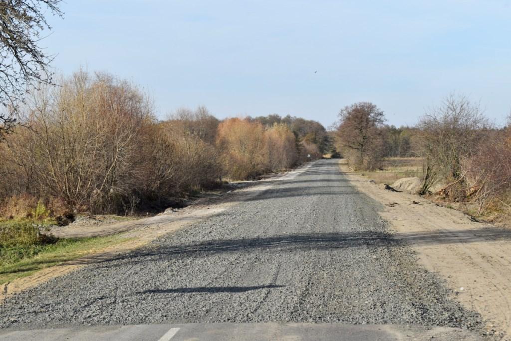 На Ковельщині ремонтують дорогу між селами Зелена та Білашів