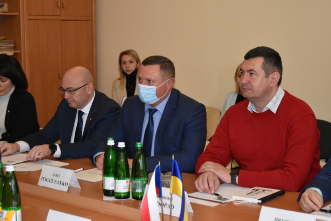 Представники обласної влади Волині зустрілися із Генеральним консулом Чеської Республіки у Львові