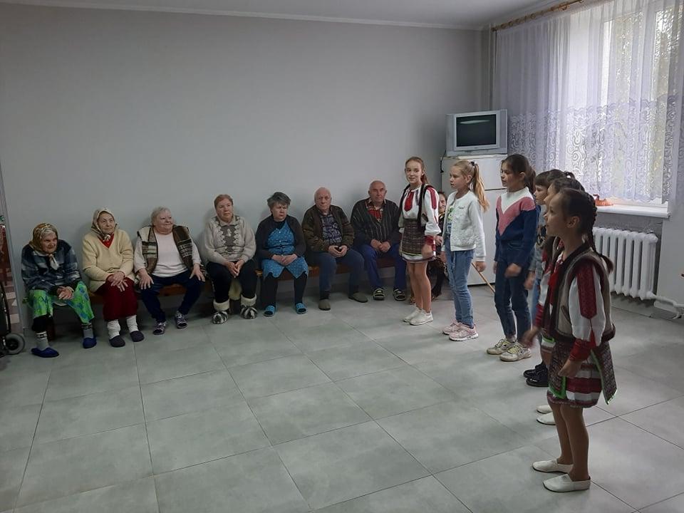 У Нововолинську організували захід з нагоди Міжнародного дня людей похилого віку