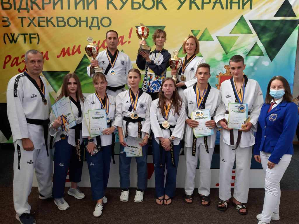 Волинські спортсмени здобули медалі кубку України з тхеквондо