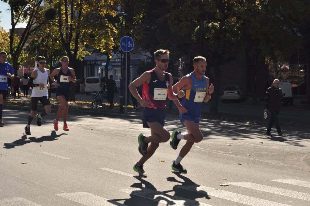 Волинянин став срібним призером чемпіонату України з марафонського бігу