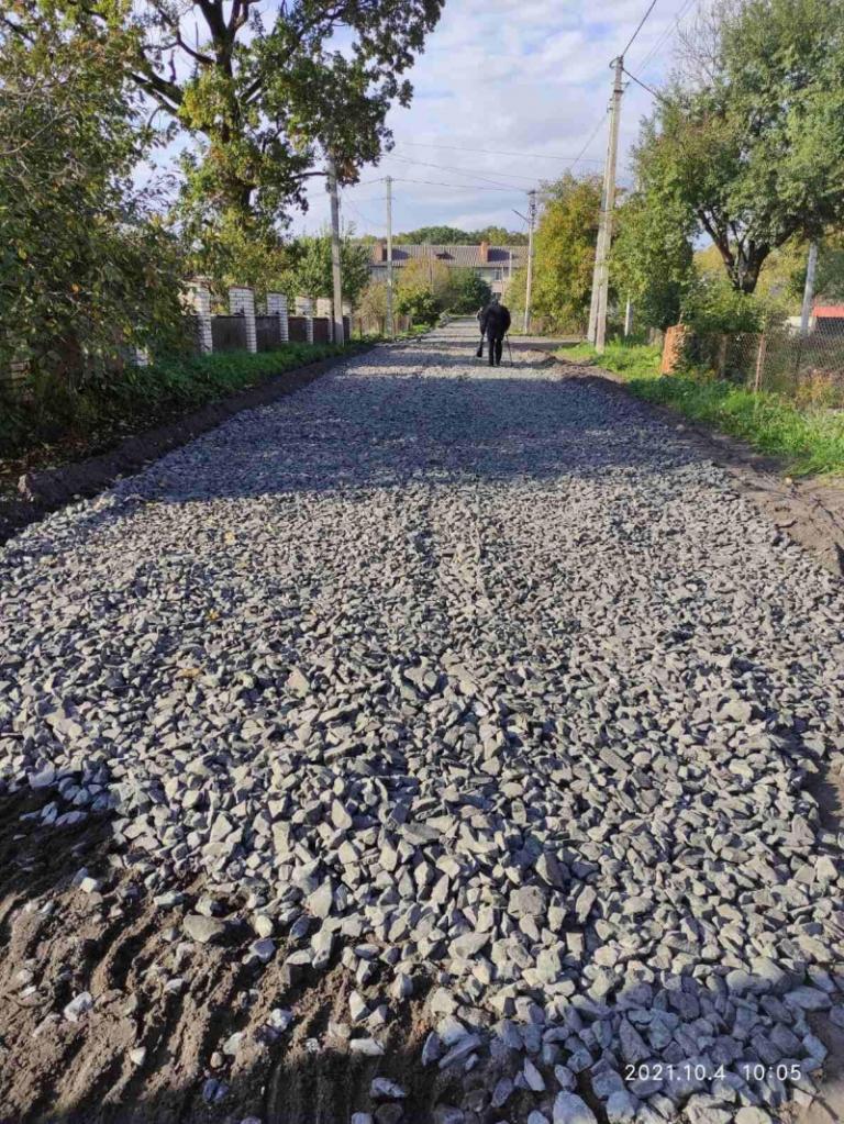 У Ківерцях завершили ремонт ділянки вулиці Деревообробників
