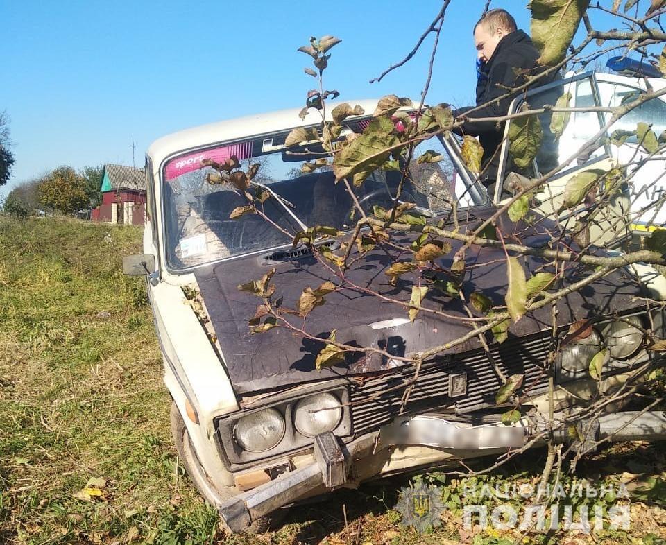 На Волині зловмисник потрапив у ДТП на викраденому авто