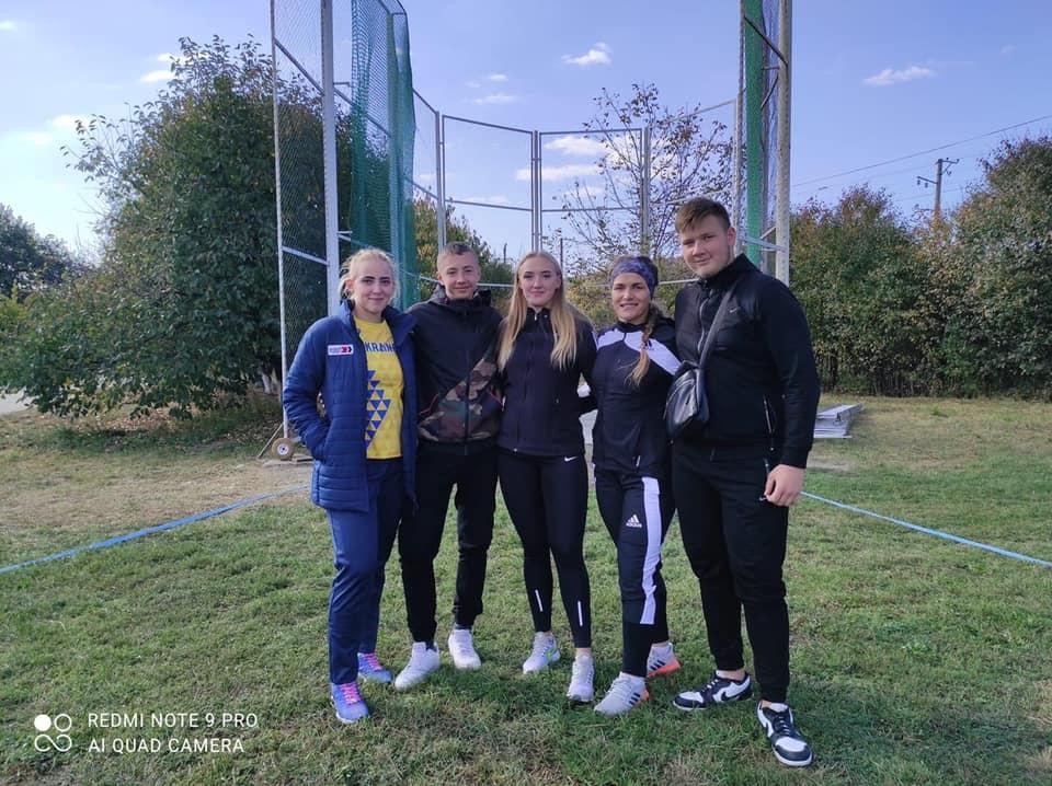 Волинські легкоатлети здобули п'ять медалей Всеукраїнських змагань з метання