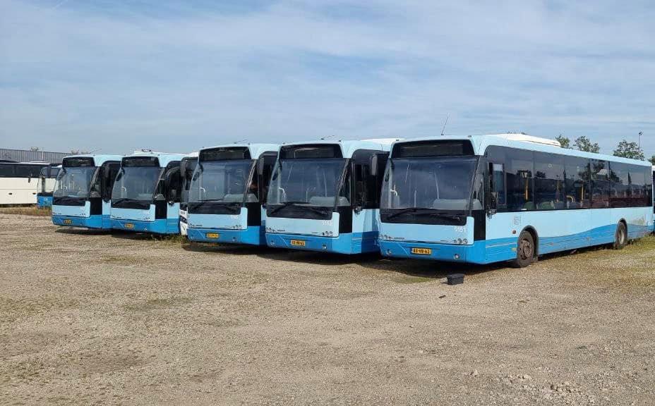 На маршрути у Луцьку вийдуть 22 нідерландські автобуси