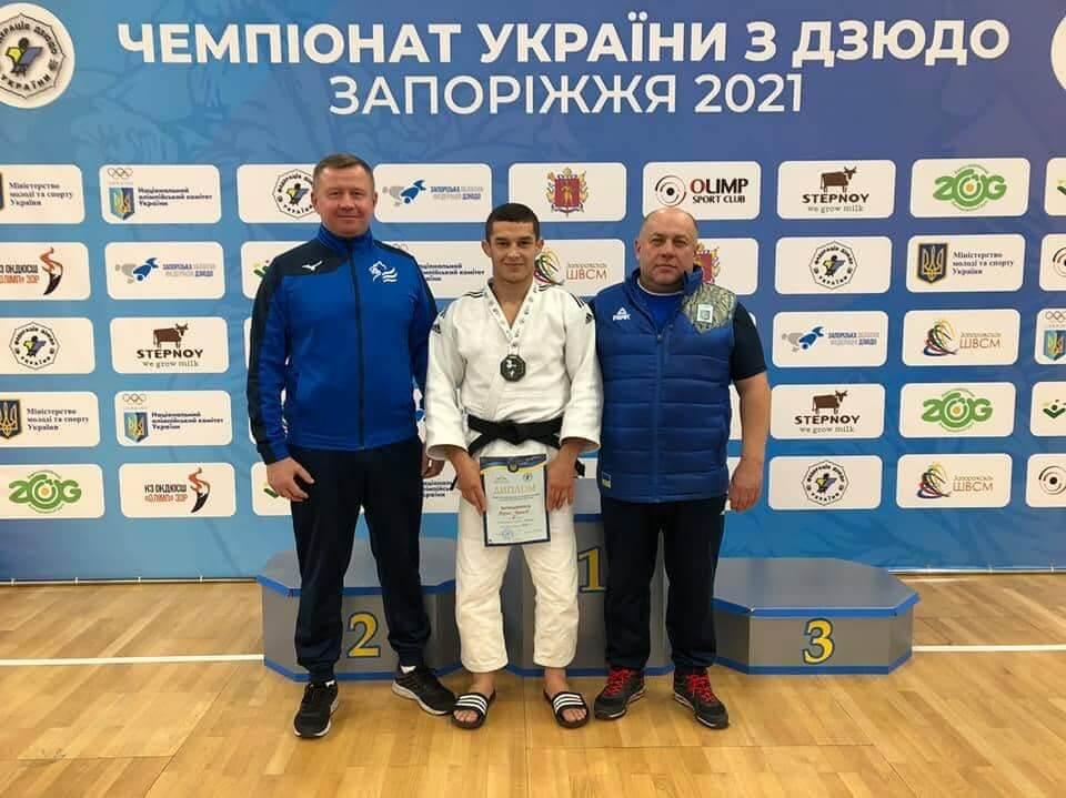 Волинянин став бронзовим призером чемпіонату України з дзюдо