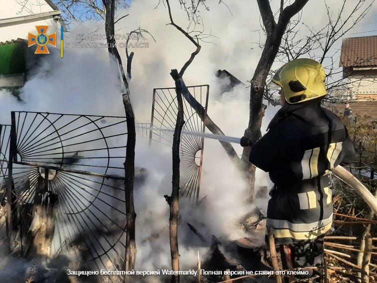 У пожежі на Волині загинув 61-річний чоловік