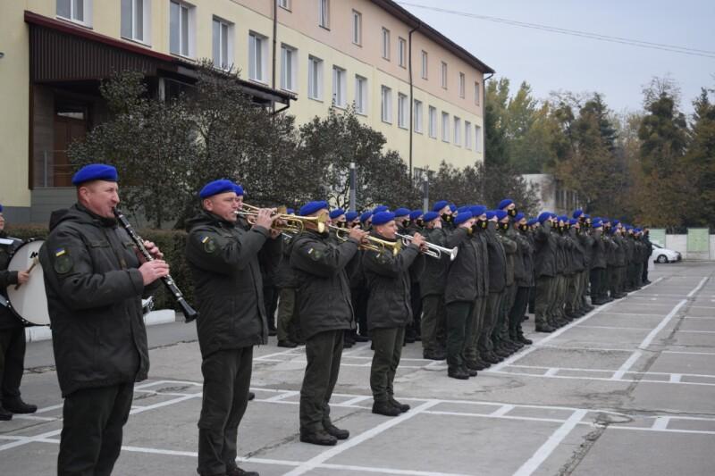 У частині 1141 Нацгвардії у Луцьку відбулися урочистості