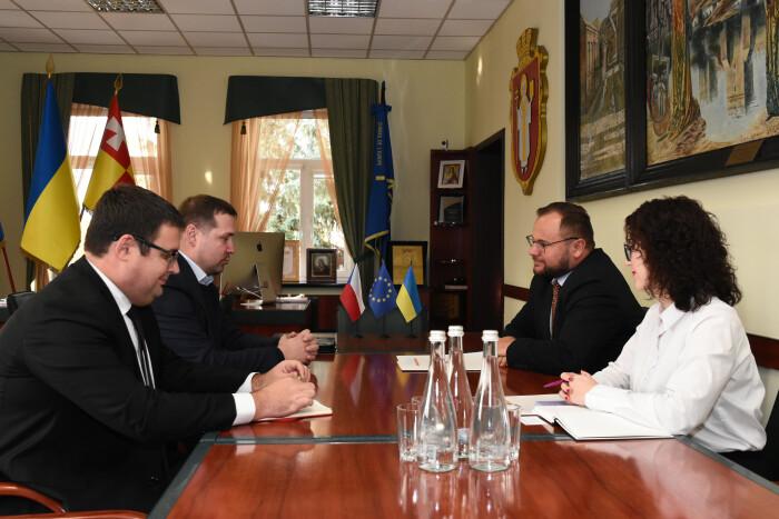 Луцький міський голова зустрівся з представниками Генерального консульства Чеської Республіки у місті Львові