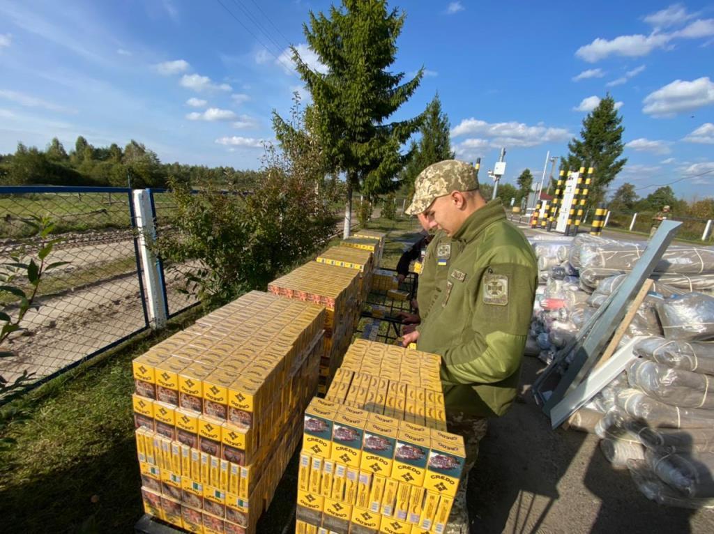 На Волині викрили чергову схему незаконного ввезення білоруських цигарок в Україну