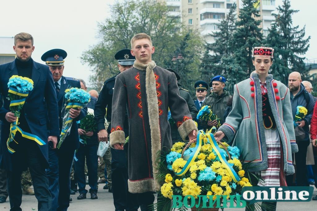 Полеглі за свободу: у Луцьку вшанували захисників України