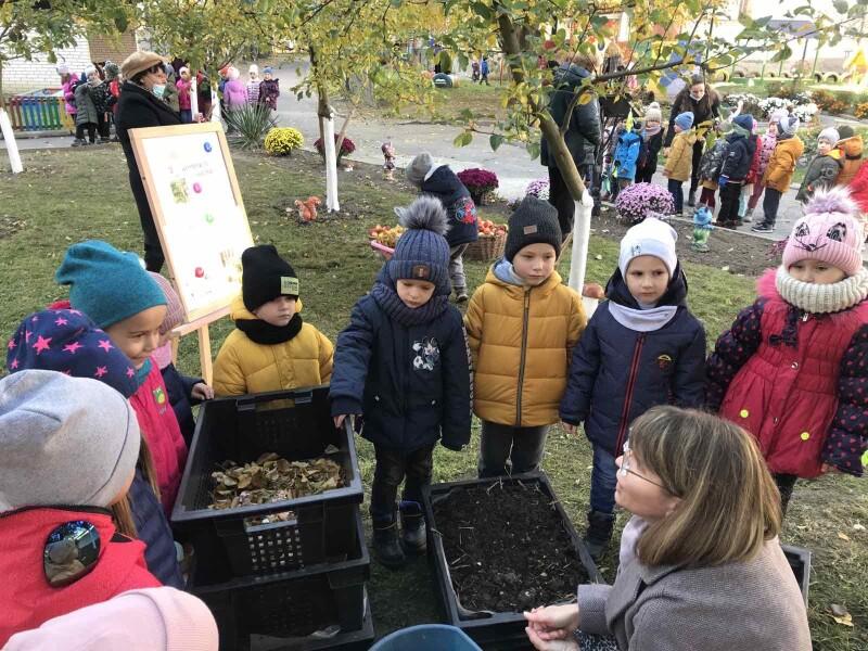 Дошкільнята Луцької громади вчаться компостувати органічні відходи