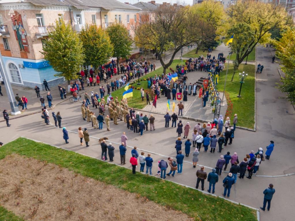 У Нововолинську вшанували героїв України