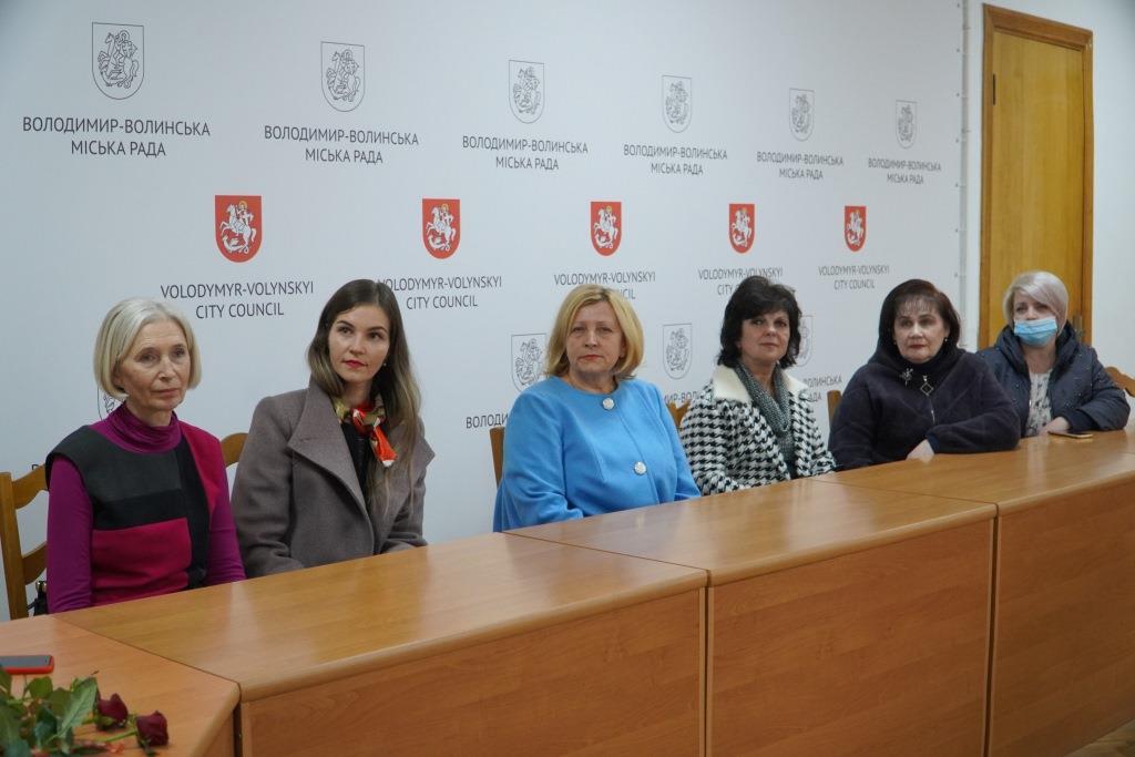 У Володимирі-Волинській громаді відзначили бібліотекарів