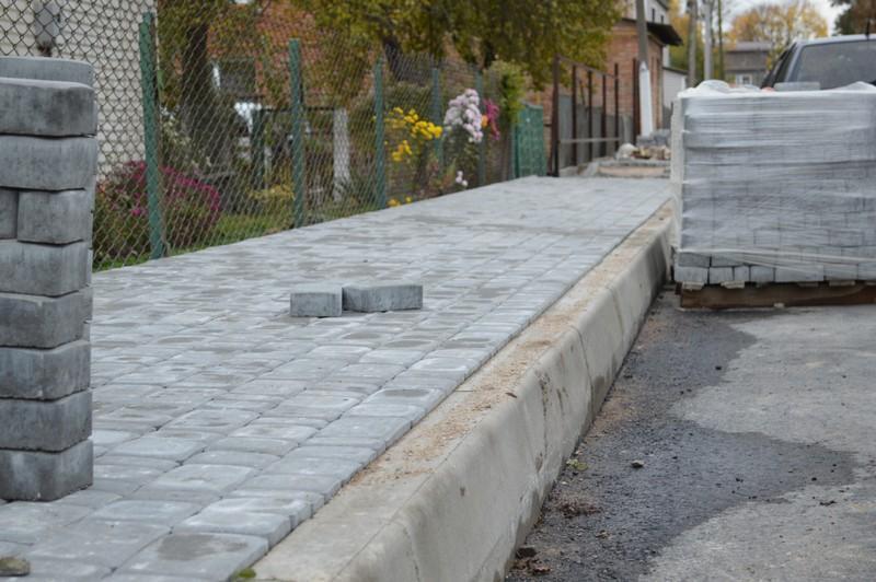 У Ковелі триває капітальний ремонт дороги на провулку Шевченка