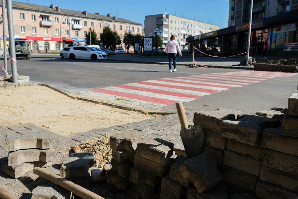 Центр Нововолинська планують зробити доступнішим для мало мобільних груп населення